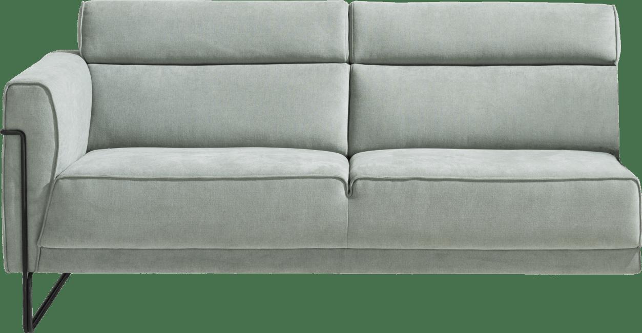XOOON - Fiskardo - Skandinavisches Design - 2-sitzer armlehne links