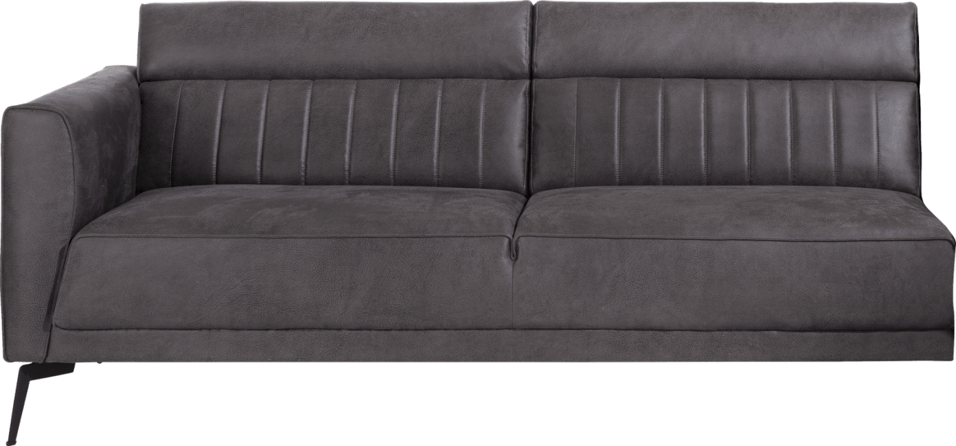 XOOON - Fiskardo - Skandinavisches Design - Sofas - 3-sitzer armlehne links