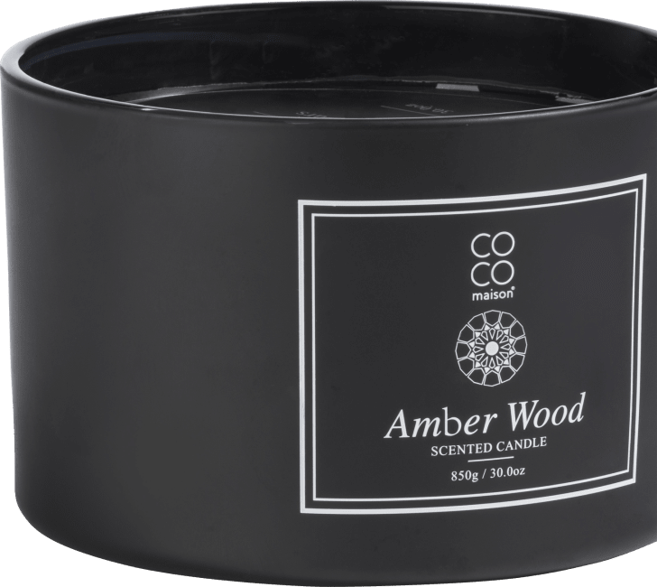 XOOON - Coco Maison - scented candle xl amber wood