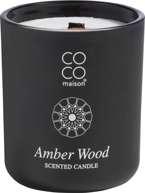 XOOON - Coco Maison - scented candle big amber wood