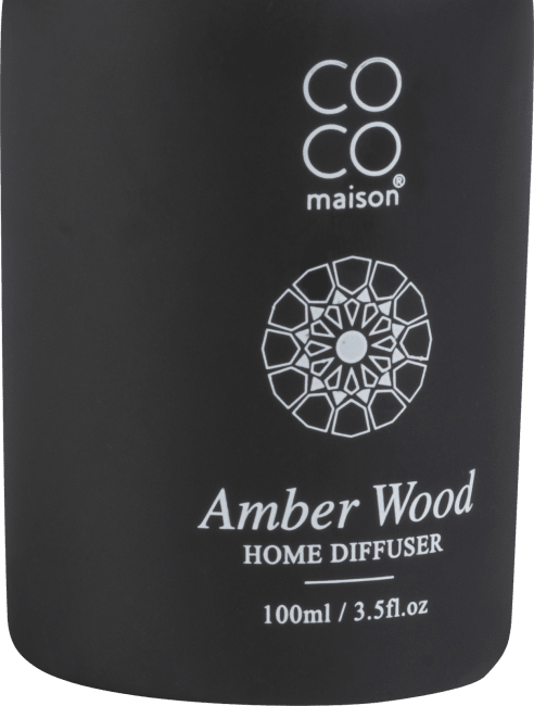 Happy@Home - Coco Maison - amber wood geurstokjes 100ml