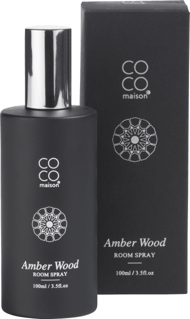 Happy@Home - Coco Maison - interieurspray 100 ml amber wood
