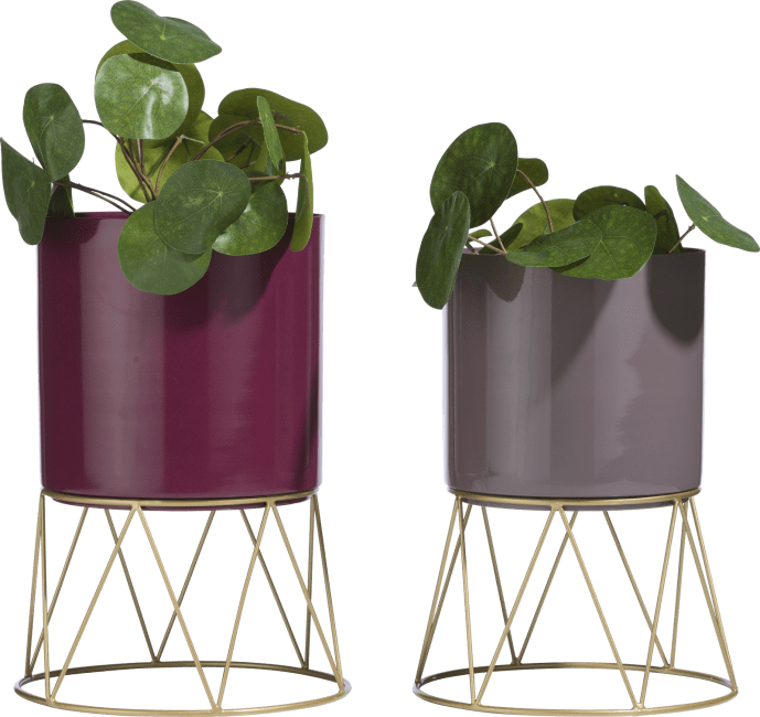 XOOON - Coco Maison - newark set of 2 planters h33-30cm