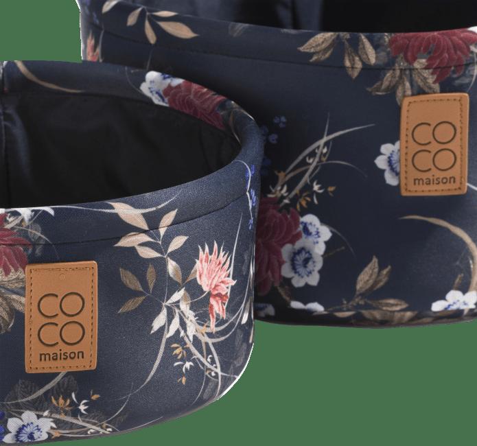 Happy@Home - Coco Maison - flower set van 2 manden h14+11cm