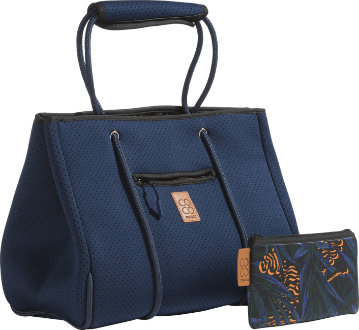 XOOON - Coco Maison - bag neoprene with zipper