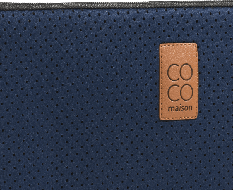 XOOON - Coco Maison - blue laptop cover 13inch