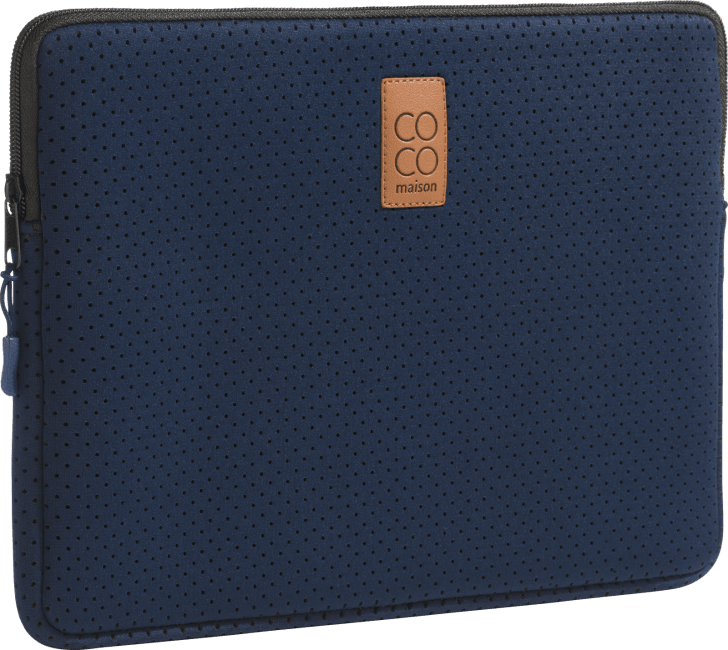Happy@Home - Coco Maison - blauw laptophoes 13inch