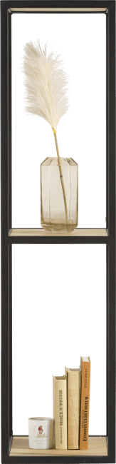 XOOON - Elements - Minimalistisches Design - buecherregal 120 cm. + 2-nischen