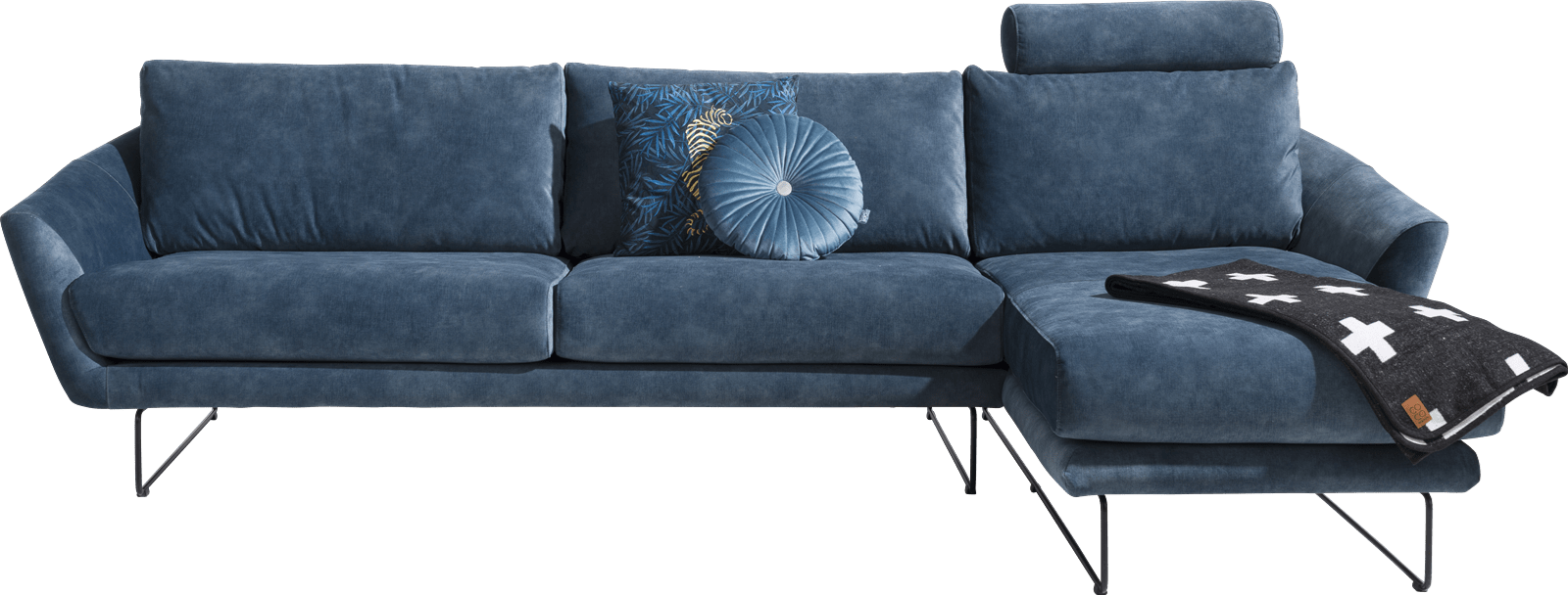 XOOON - Akron - Skandinavisches Design - Sofas - 2.5-sitzer armlehne links