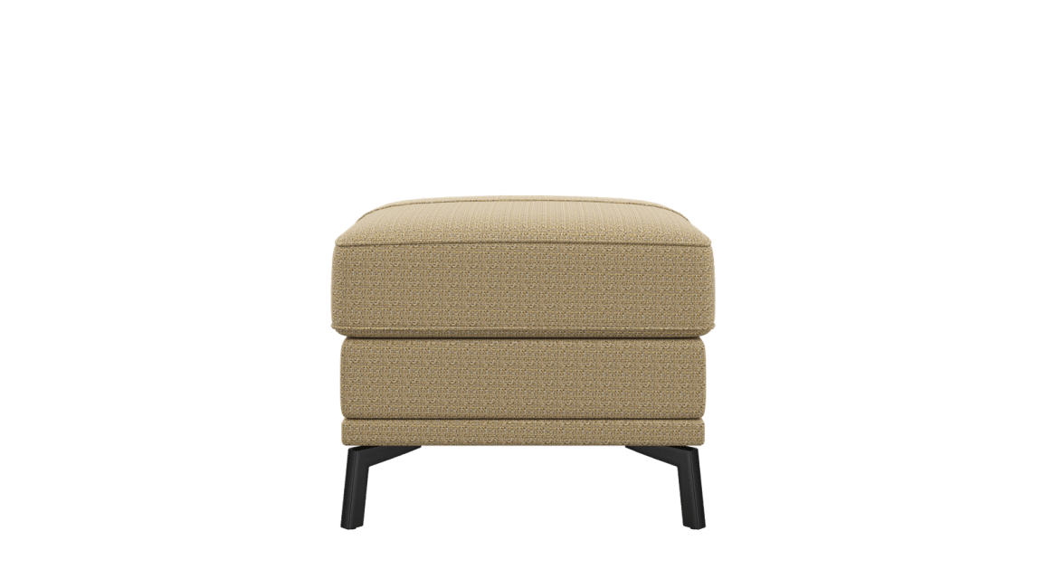 XOOON - Denver - Design minimaliste - Canapes - pouf 60 x 60 cm