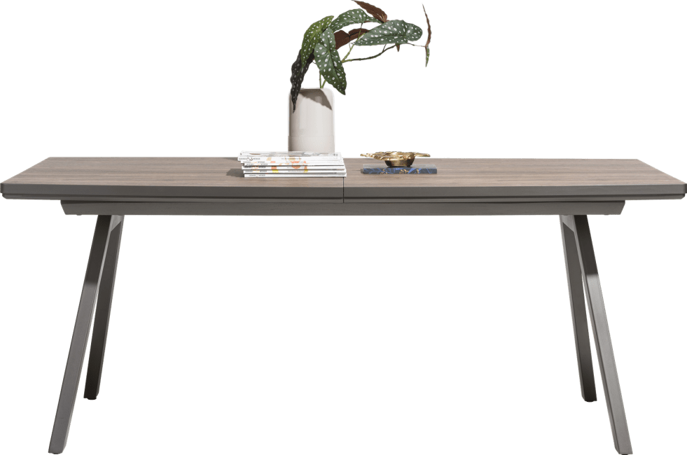 Happy@Home - Madeira - Modern - uitschuiftafel 160 (+ 50) x 98 cm