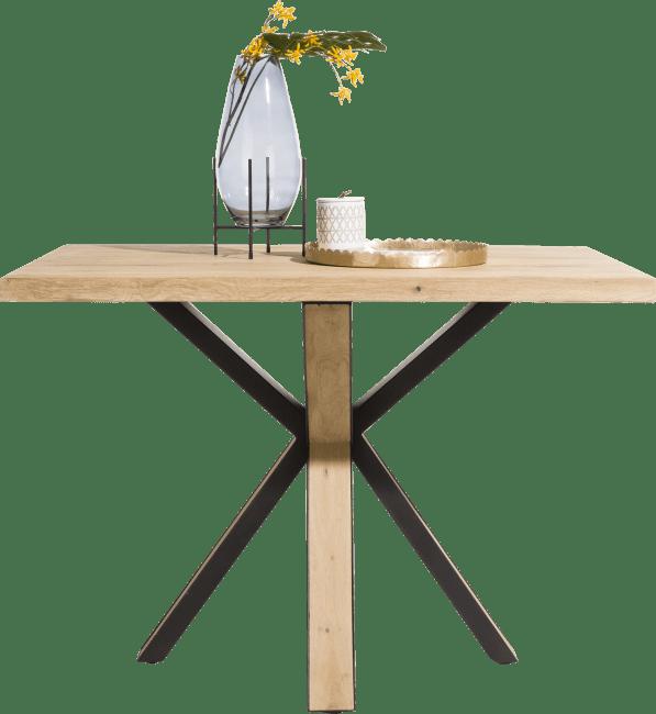 Happy@Home - Ovada - Industrieel - bartafel 130 x 90 cm (hoogte 92 cm)