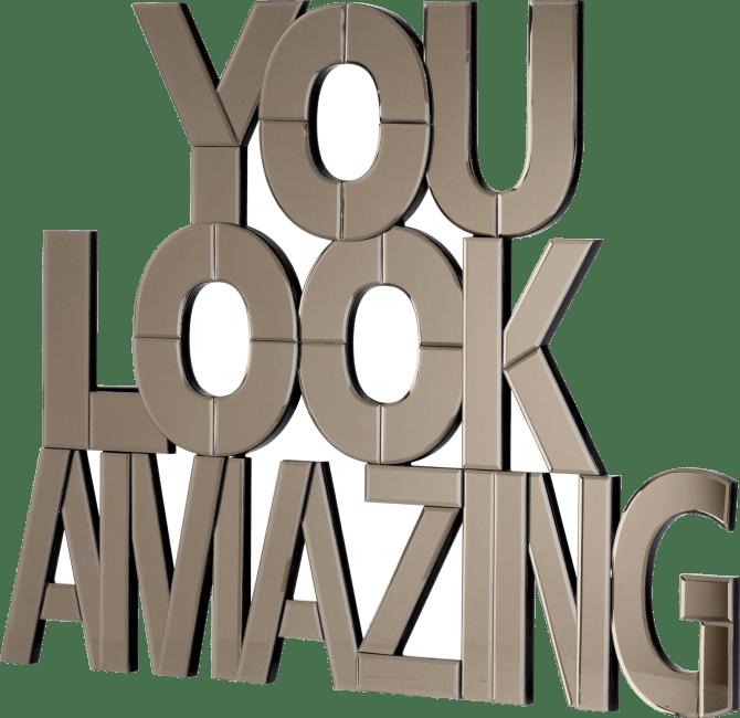 Happy@Home - Coco Maison - amazing spiegel 90x116cm