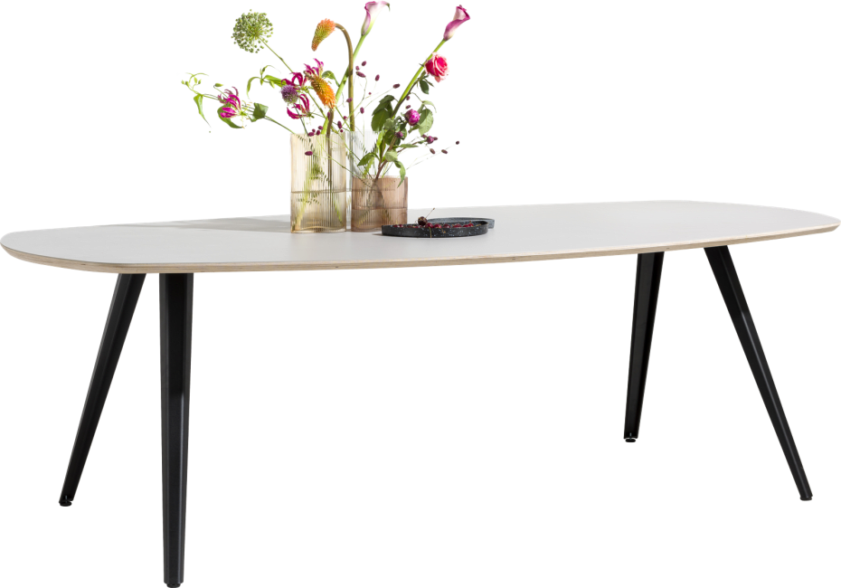 XOOON - Sunday - Scandinavisch design - eetkamertafel 240 x 120 cm