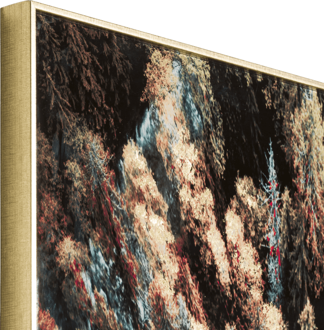 Happy@Home - Coco Maison - pine woods fotoschilderij 80x150cm
