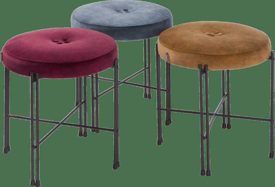 XOOON - Roos - Toutes les canapés - pouf etroit + cadre a monter - tissu serena