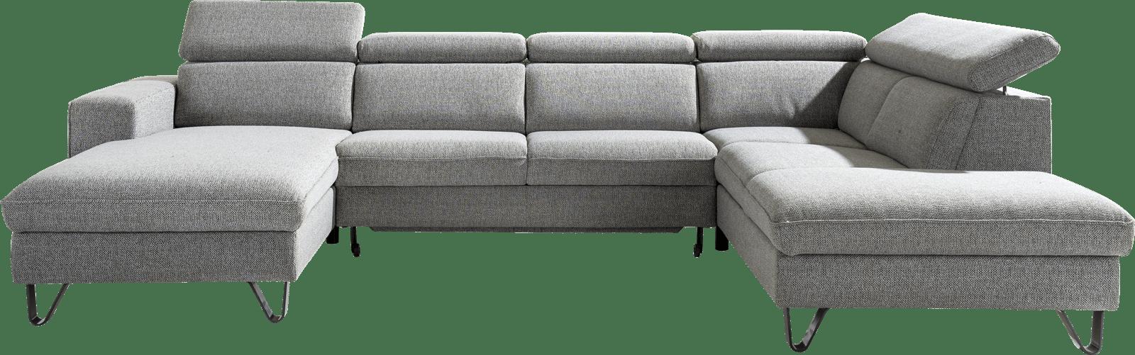 XOOON - Urban - Sofas - Longchair links - 3 Sitzer - Ottomane Rechts