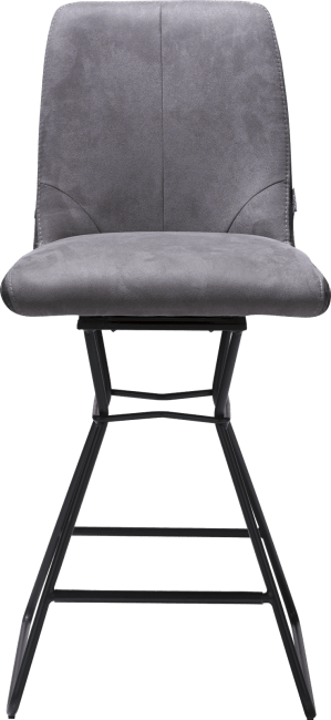 XOOON - Arvin - Industrial - barchair - black frame + combi kibo uk/tatra