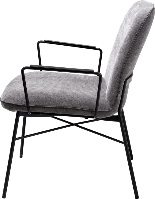 XOOON - Quint - design Scandinave - fauteuil - tissu enova