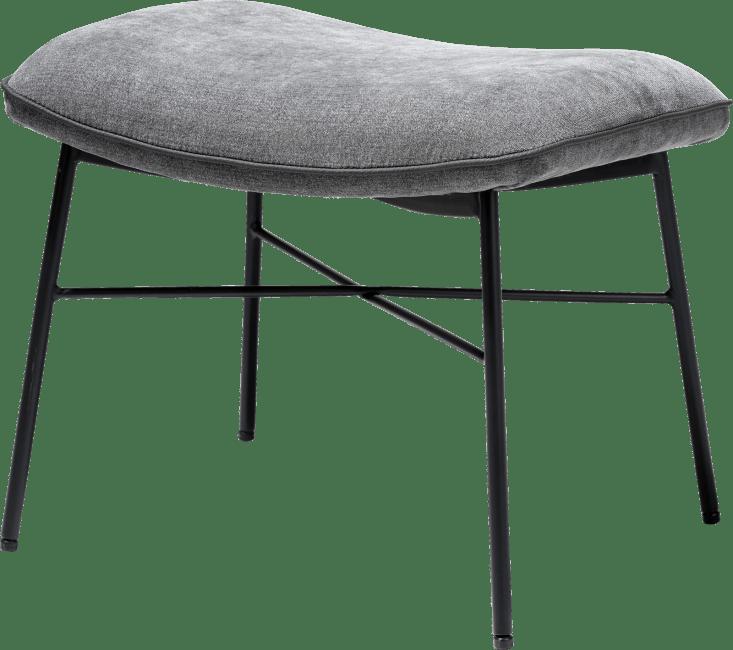 XOOON - Quint - design Scandinave - Toutes les canapés - pouf pour fauteuil - tissu enova