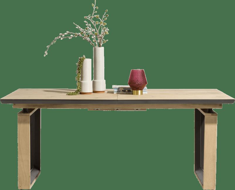 Henders and Hazel - Pedro - Natuurlijk - uitschuiftafel 190 (+ 50) x 100 cm