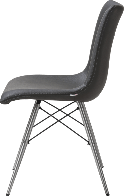 XOOON - Ambra - Design minimaliste - chaise + materiau synthetique tatra