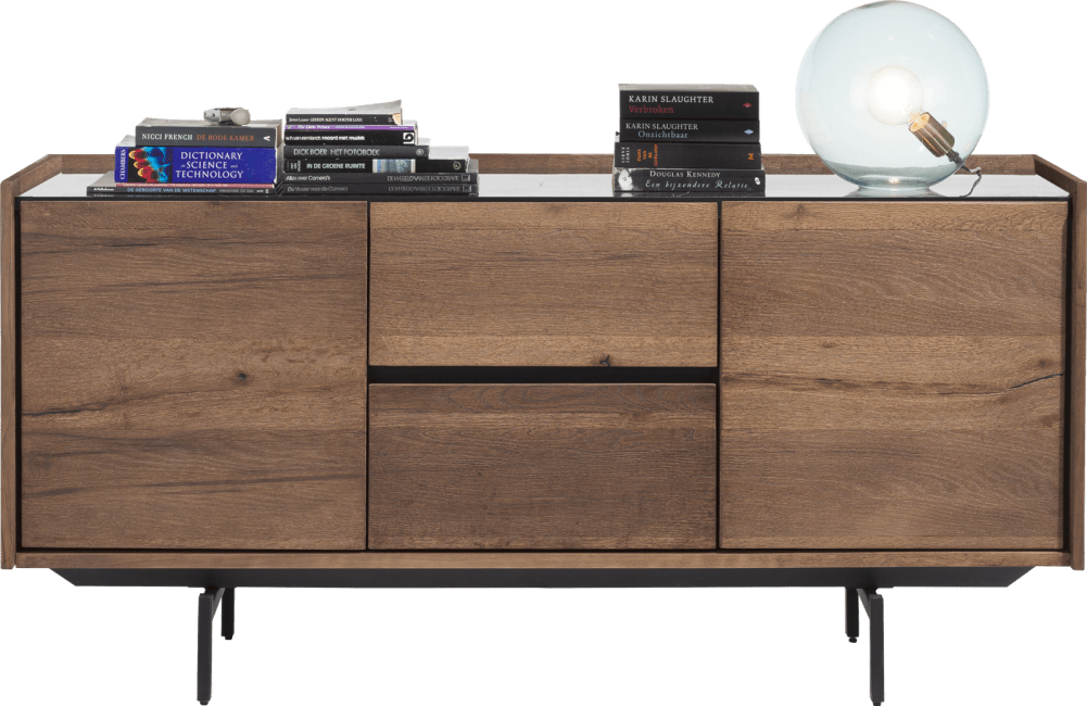 XOOON - Halmstad - Scandinavian design - sideboard 160 cm - 2-doors + 2-drawers