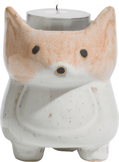 Happy@Home - Coco Maison - fox theelicht h9cm