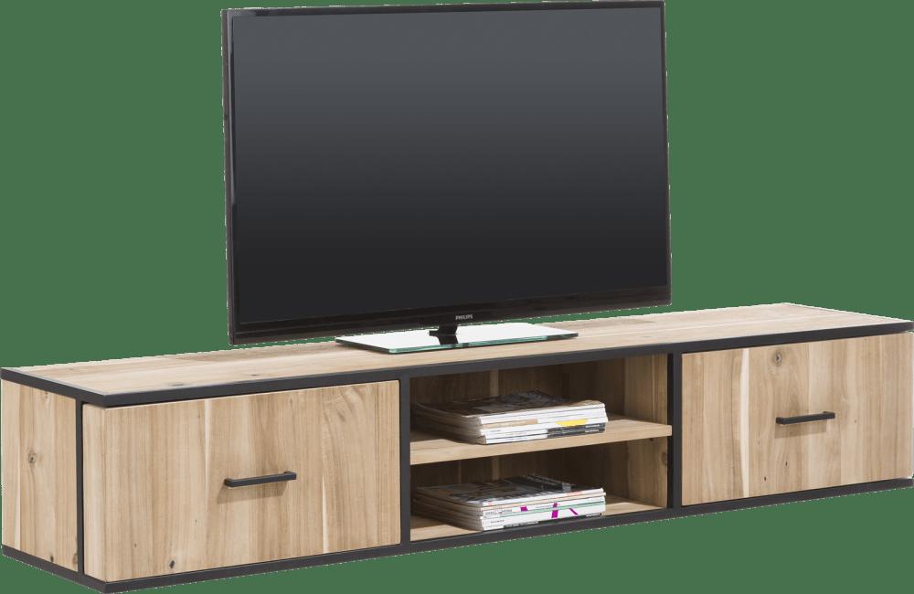 XOOON - Kinna - Skandinavisches Design - tv-sideboard 190 cm - 1-tuer + 1-lade + 2-nischen