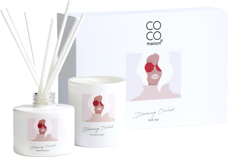 Happy@Home - Coco Maison - gift set blooming orchid