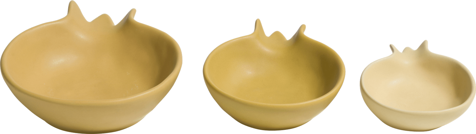 XOOON - Coco Maison - pomegranate set of 3 bowls