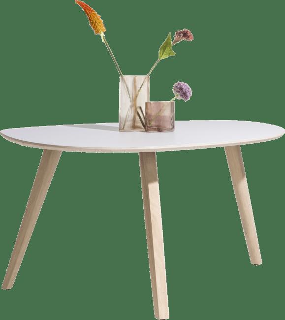 XOOON - Sunday - Scandinavisch design - eetkamertafel 150 x 100 cm