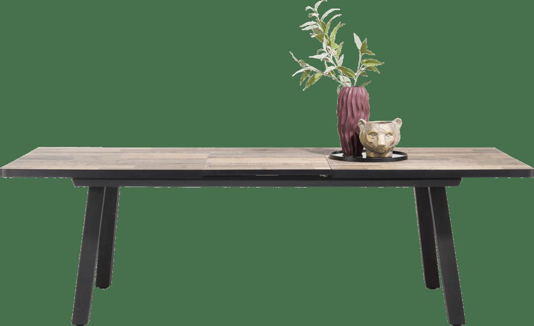 Henders and Hazel - Avalox - Industrieel - uitschuiftafel 190 (+ 60) x 98 cm