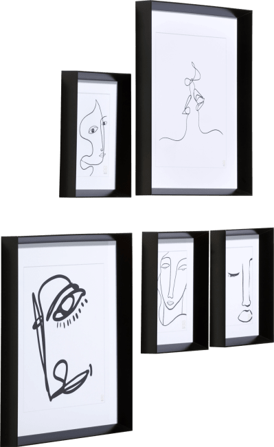 XOOON - Coco Maison - set of 5 photoframes denna