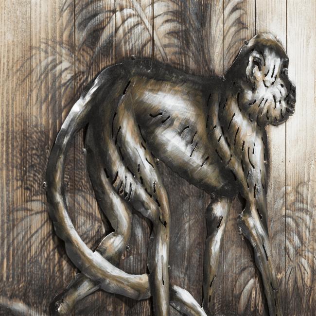 Happy@Home - Coco Maison - schilderij monkey 73 x 90 cm