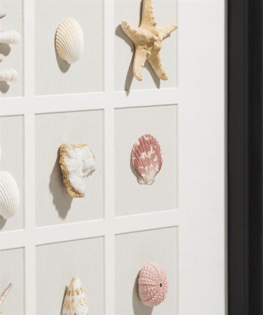 Happy@Home - Coco Maison - ocean treasures 3d wandobject 73x73cm