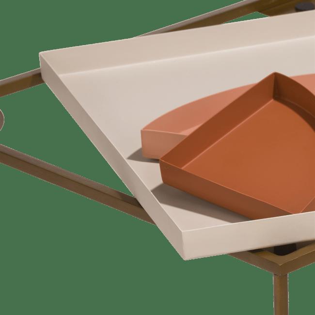 Happy@Home - Coco Maison - roxie bijzettafel 40 x 40 cm