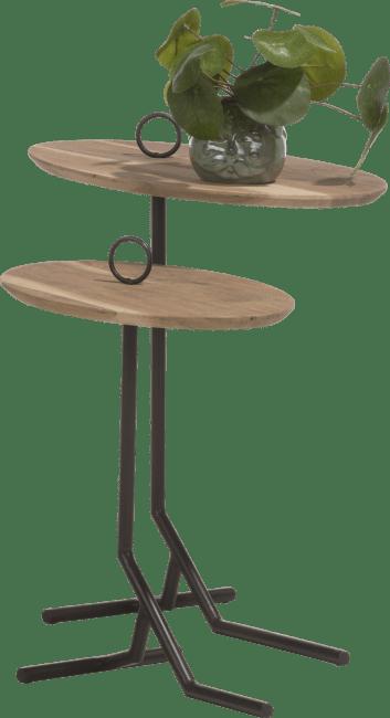 Happy@Home - Coco Maison - nylah set van 2 bijzettafels h50-40cm