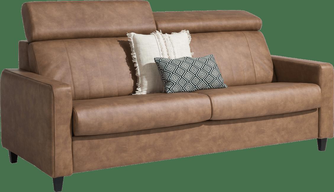 Henders & Hazel - New Jersey - Canapés - canape lit 160 x 190 cm - pieds haut (standard: bois)