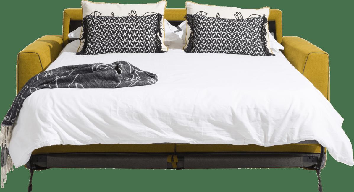 H&H - New Jersey - Canapés - canape lit 140 x 190 cm - pieds haut (standard: bois)