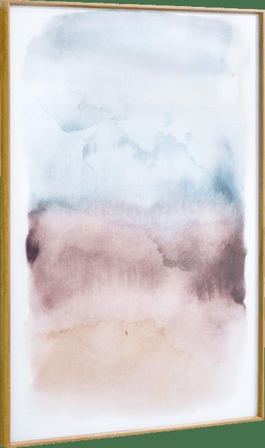 Happy@Home - Coco Maison - watercolor print 100x70cm