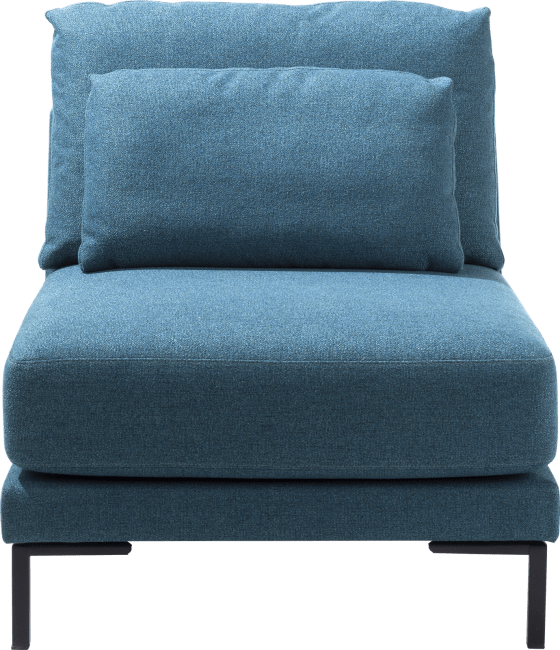 XOOON - Toledos - Minimalistisch design - Salons - 1-zits xl zonder armen - 90 cm
