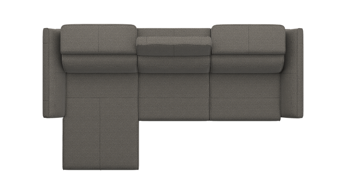 Henders and Hazel - London - Sofas - Longchair links - 2,5 Sitzer Armlehne rechts