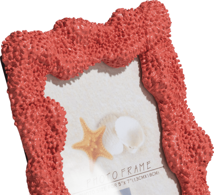 XOOON - Coco Maison - photo frame coral 18 x 23 cm