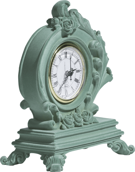 XOOON - Coco Maison - barok table clock h21cm