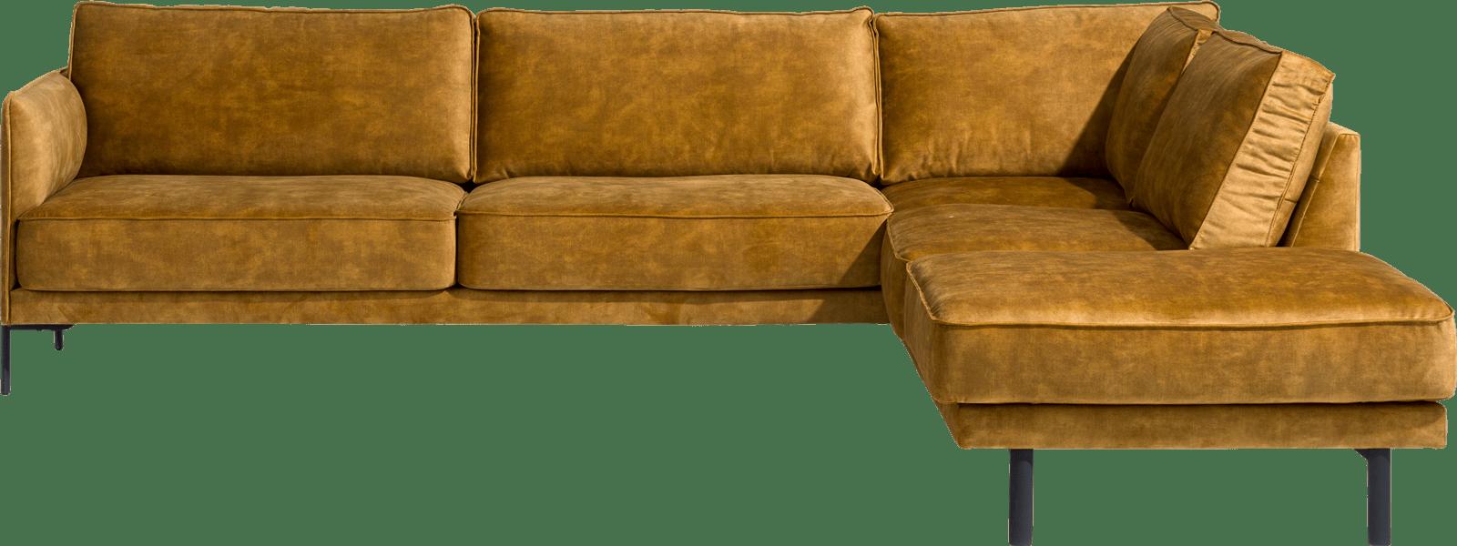 XOOON - Modena - Sofas - 3 Sitzer Armlehne Links - Ottomane Rechts