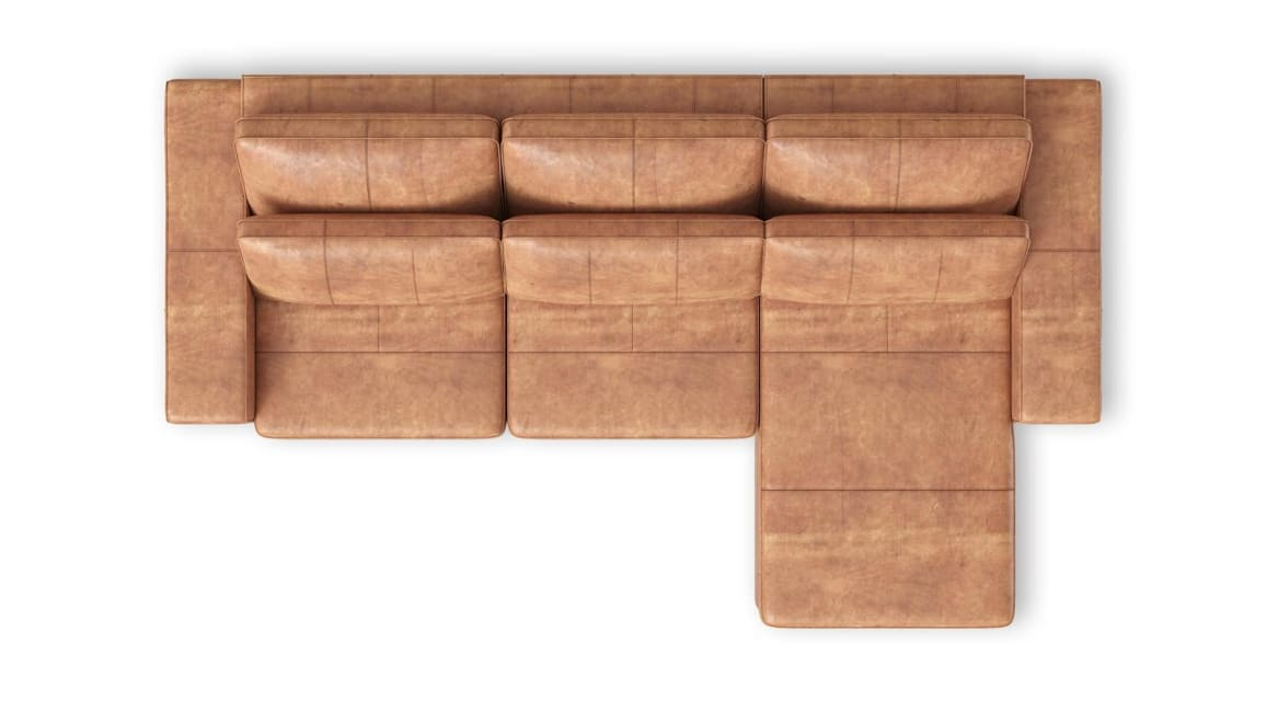 Henders and Hazel - Braga - Sofas - 2,5 Sitzer Armlehne links - Longchair rechts