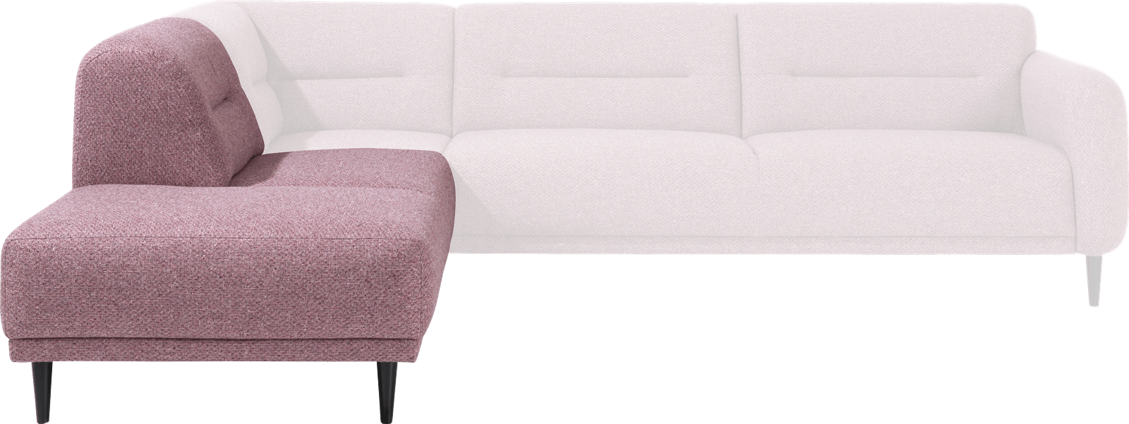 XOOON - Halifax - Skandinavisches Design - Sofas - ottomane klein links