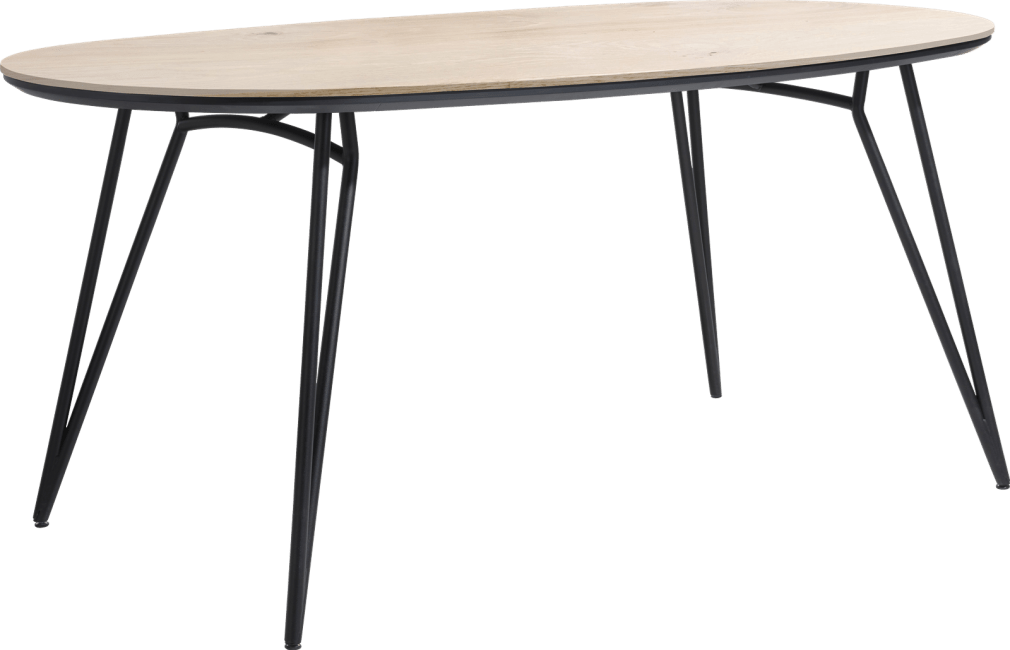 Vik tresentisch ovale 220 x 120 cm. (hoehe: 92 cm.)