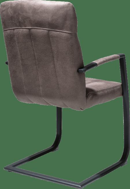 H&H - Jacqueline - Rural - fauteuil - cadre noir